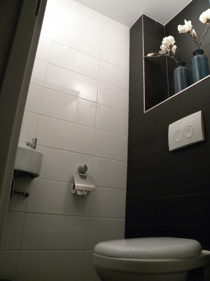 Badkamers tegelwerken - Kleur wc ...